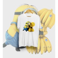 Kaos Kartun Minions - Banana - Original New States Apparel - S