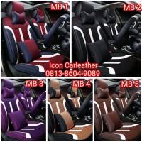 Sarung Jok Mobil Sigra / Calya Bahan MBtech Superior/Camaro