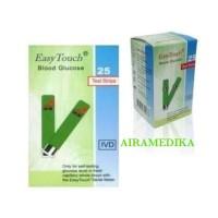 EasyTouch Glucose Alat Test Stik Strip Gula Darah Refill Easy Touch