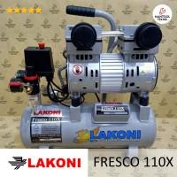 FRESCO110X 110 X Kompresor Compressor Oilles Silent 1 HP 10 L LAKONI