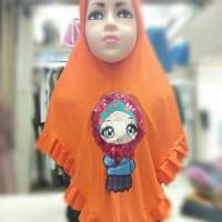 Jilbab Anak LOL Lampu dan Lagu