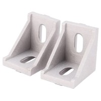 Gusset 4040 series Aluminium Profile Bracket / Corner Aluminum
