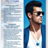 Blue Pendant Rrjuve Crystal