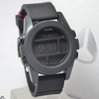 Jam Tangan Pria Nixon A197000 Unit Original Black Rubber