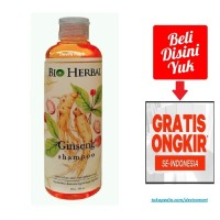 Bio Herbal Ginseng Shampoo Shampo Sampo Gingseng Kesehatan Rambut
