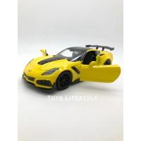 Motormax Diecast - Corvette ZR1 Skala 1:24 (Kuning)