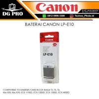 BATERAI CANON LP-E10 - BATTERY KAMERA CANON EOS 1300D,EOS 4000D,1200D