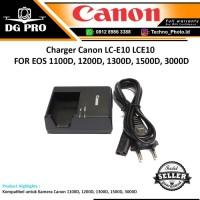 Charger Canon LC-E10 LCE10 FOR EOS 1100D, 1200D, 1300D, 1500D, 3000D