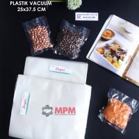Plastik Vacuum 25 X 37,5 Cm Vacum Bag, Plastic Vakum Mesin Sealer