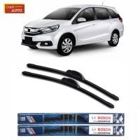 Wiper Mobil Frameless Honda Mobilio Sepasang 2pcs Bosch Clear Adv