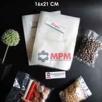 Plastik Vacuum 16 X 21 Cm Vacum Bag, Plastic Vakum Mesin Sealer