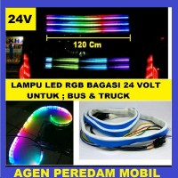 LAMPU LED RGB BAGASI MOBIL BUS 24 V limited edition