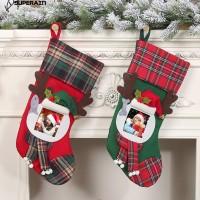 [import] 2Pcs Kaos Kaki Gantung untuk Dekorasi Natal