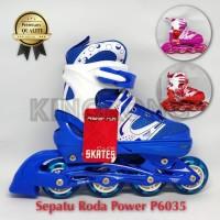 Sepatu Roda Anak Dan Dewasa Bajaj Power Inline Skate Model Roda Nyala