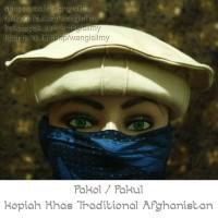 Pakol Kopiah Mujahid Afghanistan, Songkok Mujahid, Peci Taliban