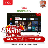 LED ANDROID SMART TV DIGITAL 55 INCH TCL 55A8