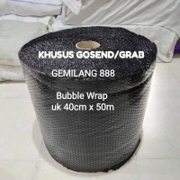 [khusus Gosend/grab] Plastik Bubble Wrap Uk 40cm x 50m, bubble packing