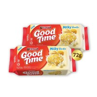 Buy 1 Get 1 FREE Arnott's Good Time Cookies Milky Vanilla