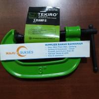 "Clamp C / catok model C klem - C 3"" inch TEKIRO HEAVY DUTY"