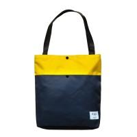 KEE Tas Totebag Lila Edition Navy Yellow Tote Bag Premium