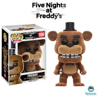 Funko POP! Games Five Nights at Freddy's - Freddy (Flocked) EXCLUSIVE