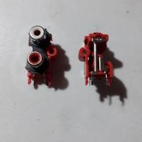 SOCKET RCA 2 PIN PCB