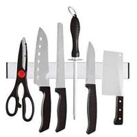 Rak Holder Hanger Knife Pisau Dapur Tempel Magnet Serbaguna Organizer