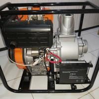 mesin pompa air bahan bakar diesel stater merk Robotech