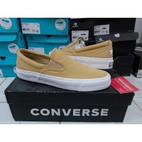 Sepatu Casual Converse Cons One Star Slip CC Gold Club Original