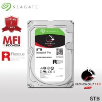 Seagate IronWolf Pro HDD / Hardisk NAS 8TB SATA 7200RPM
