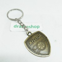 Key Chain Gantungan Kunci Ganci logam Logo tim sepak bola Arsenal