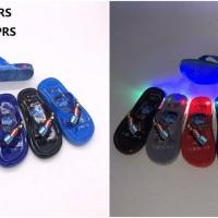 Sandal Jepit TAYO LAMPU LED Anak Laki Laki