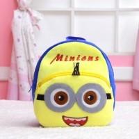 Tas sekolah anak, ransel boneka karakter kartun, school bag Minion