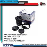 LENSA TOKINA ATX 11-16MM PRO DX II FOR CANON