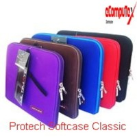PROTECH SOFTCASE LAPTOP CLASSIC 10 12 DAN 14 INCH TAS LAPTOP