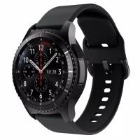 Strap Silicone Samsung Galaxy watch 46mm Gear S3 tali jam 22mm
