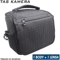 M03 Tas Selempang Kamera Mirrorless DSLR / Bag Camera Canon Nikon Sony