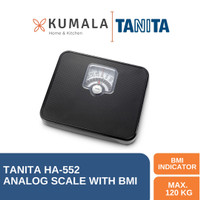 Tanita Timbangan Badan Analog HA-552 With BMI (Black)