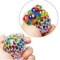 mainan squishy bola anggur mesh ball splat anti stress-tanpa lampu