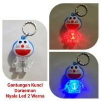 Gantungan Kunci Lampu Doraemon / Gantungan Kunci LED ( FREE BATT)