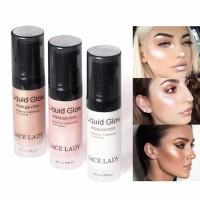 sace lady Highlighter cair warna Shimmer/ kosmetik wajah skincare
