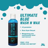 ULTIMATE BLUE WASH N WAX - SHAMPOO SABUN CUCI MOTOR MOBIL PEMBERSIH