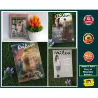 Box Set Novel Dilan + Dilan 2 + Milea + Bonus
