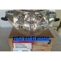 HEAD LIGHT UNIT LAMPU DEPAN HONDA SUPRA X 125. SUPRA X 125 INJECTION O
