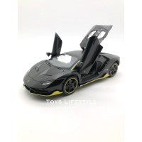 MiniAuto Diecast - Lamborghini Centenario Skala 1:32 (Hitam Matte)