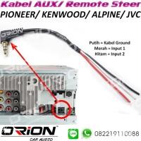 Kabel Remot Remote Steer Stir Pioneer AUX Kenwood ALpine JVC Sony
