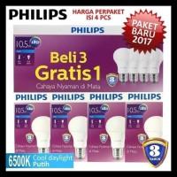 Pencahayaan Bohlam Lampu Led Philips 10 5W P2990908 Diskon