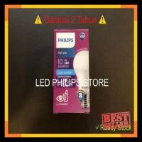 Pencahayaan - Lampu Bohlam Led Philips 10.5 Watt Putih/Cool Daylight