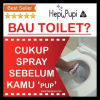 Pewangi Wc / Pengharum Toilet Premium / Penghilang Bau / Hepipupi