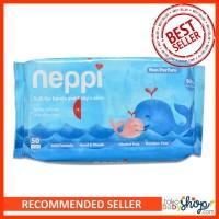 Neppi Baby Wipes Tissue Basah Bayi Isi 50 Lembar